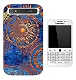 002881 - Greece Goddess Gold Sun Pattern Design Blackberry