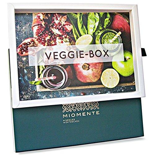 Miomente VEGGIE-Box: Veggie-Kochkurs Gutschein - Geschenk-Idee Erlebnisgutschein (Vegan-kochkurs)