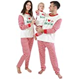 Family Matching Christmas Pyjama Sets Xmas Nightwear Outfits Dad Mom Girl Boy Baby