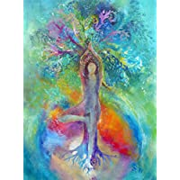 Yoga Baum-Frau
