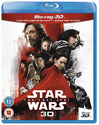 Star Wars: The Last Jedi [Blu-ray 3D] [2017] [Region Free]