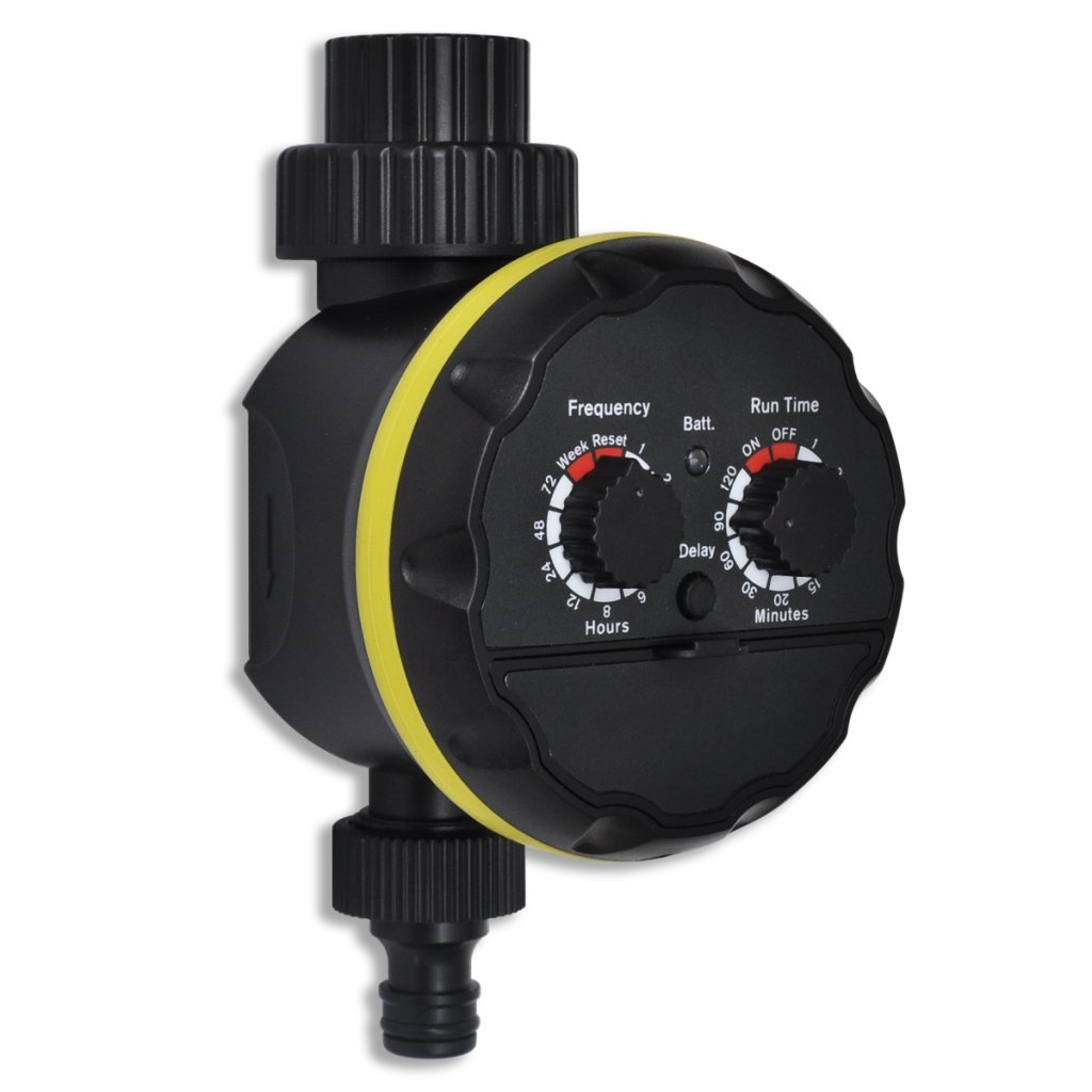 Festnight Automatische Bewässerungscomputer Zeitschaltuhr Bewässerung Gießen für Gartenbewässerung