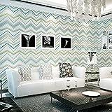 3d dreidimensionale relief moderne einfach aus tapete hing gestreiften sofa im wohnzimmer tapezieren, blau und grau