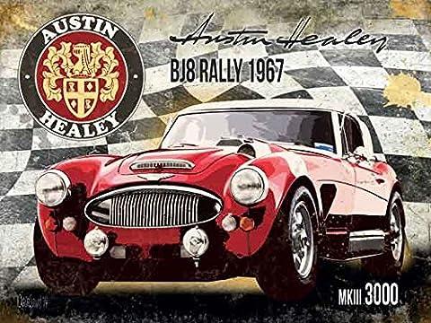 AUSTIN Healy BJ8Rally 1967Kurzwaren véhicules Plaque de Austin Healey 20x