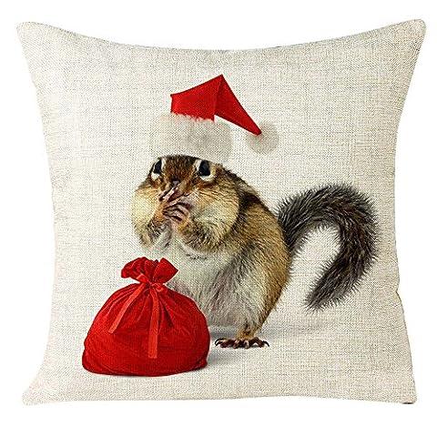 Douche Diy Rideau Costume - Pillowcase de Noël, Reaso Photos des animaux