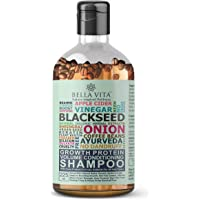 Bella Vita Organic Growth Protein Shampoo & Conditioner For Hair Volume, Fall, Dandruff, Frizz Control, Shine & Strength