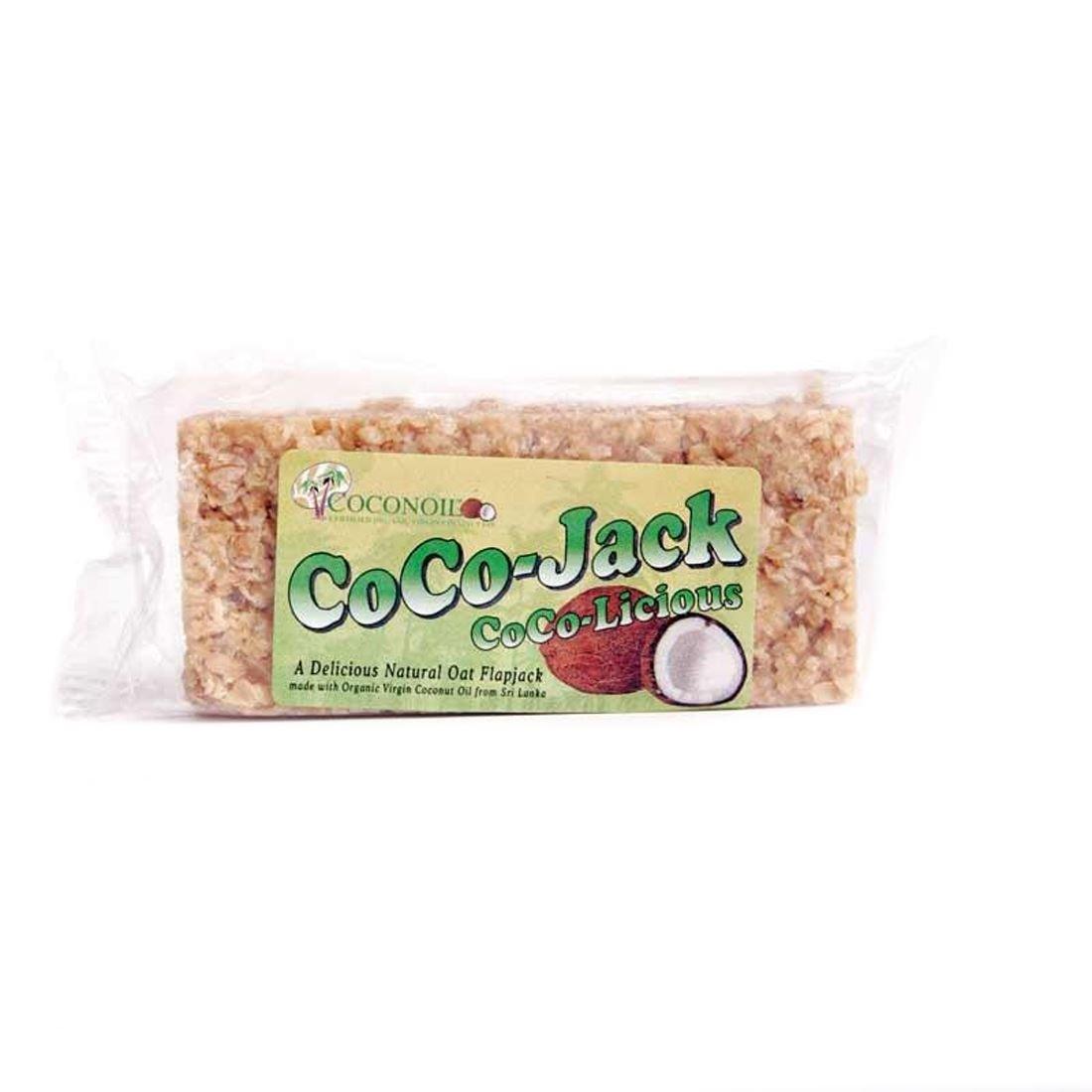 Coco-Jack | Coconut Flapjacks | 6 x 65g