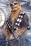 Star Wars: El último Ballesta Jedi Chewbacca Póster (tamaño Grande)
