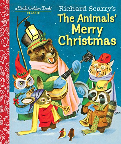 richard-scarrys-the-animals-merry-christmas-little-golden-book