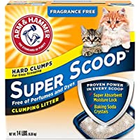 Super scoop clumping Litter (fragrance free) 6.35 kg