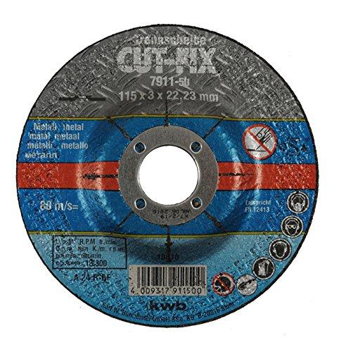 KWB CUT-FIX - ACCESORIOS PARA AMOLADORAS ANGULARES (CORTE DEL DISCO  METAL)
