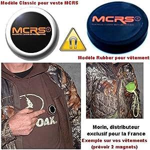 Magnet aimanté grand modèle (pour veste MCRS ou autre vêtement) - MCRS