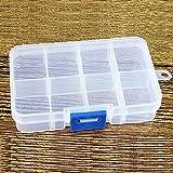 Compartimiento de plástico caja, desmontable plástico diamante bordado caja en...