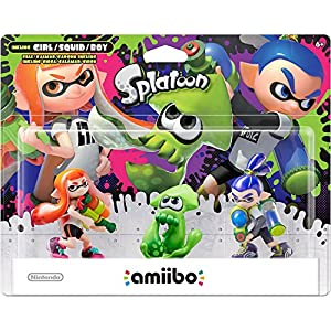 Splatoon Series amiibo 3-Pack – Wii U