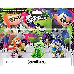 Splatoon Series amiibo 3-Pack – Wii U