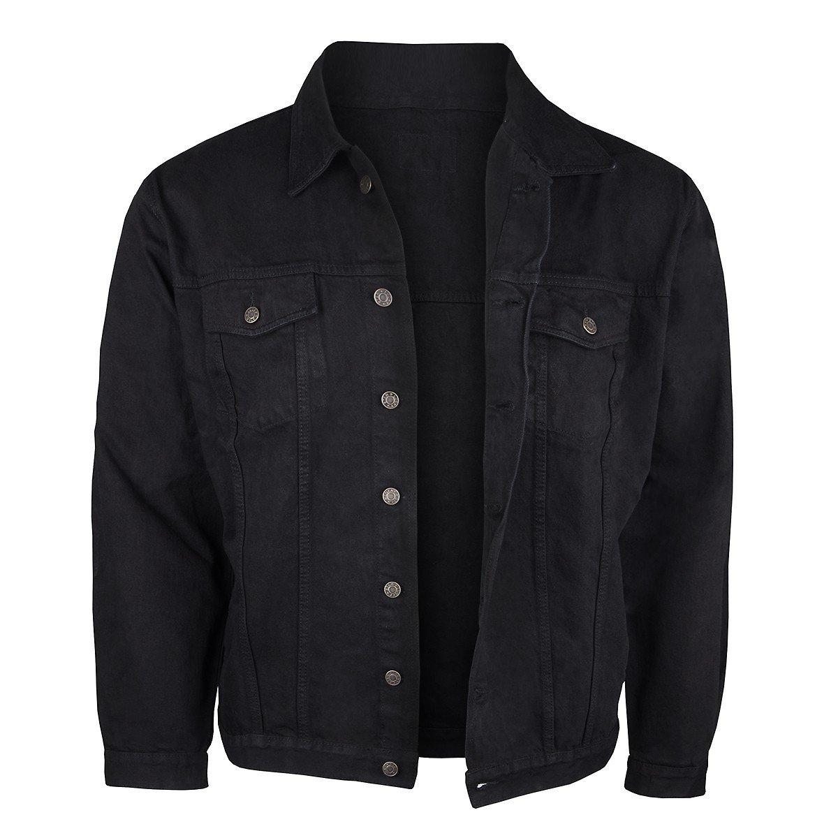 jeansjacke herren schwarz vergleichen kaufen jeans vip. Black Bedroom Furniture Sets. Home Design Ideas