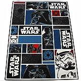 Star Wars Kinderteppich 133 x 95 cm Teppich Spielteppich Disney Star-Wars Icons