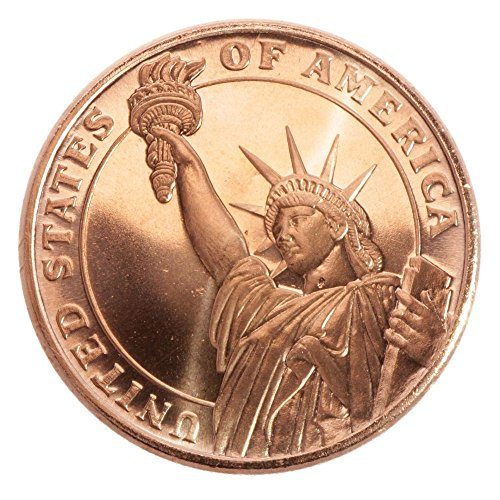 '1 oncia .999 FEIN rame Statue Of Liberty ""