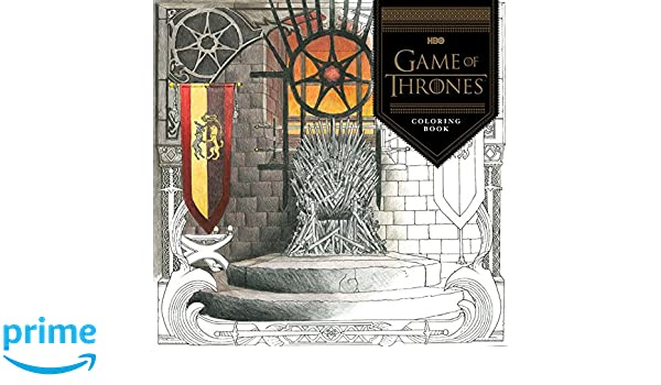 Buy HBOs Game Of Thrones Coloring Book Online At Low Prices In India