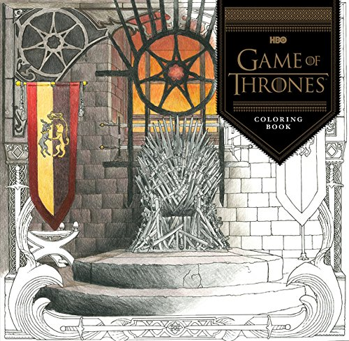 game of thrones malbuch Game of Thrones Coloring Book