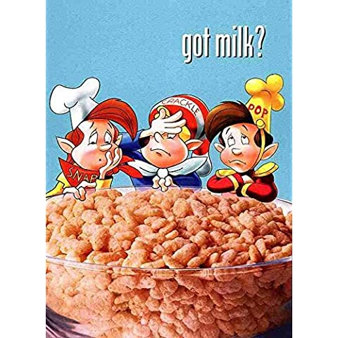 Got Milk? Jigsaw Puzzle - Snap, Crackle, Pop; Rice Crispies by Ceaco