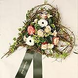 Grabschmuck Herz, dieses Grabgesteck *Ein letzter Herzensgruß* ist vom Floristenmeister liebevoll gearbeitet und eignet sich u.a für die Bestattung und für den Friedhof Size 60 Euro