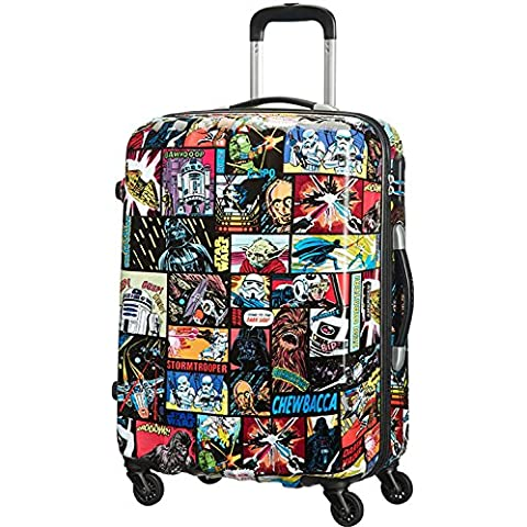 American Tourister Star Wars Legends Spinner 65/24 Alfatwist Maleta, 52 Litros, Varios Colores
