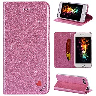 iPhone 7 Case, iPhone 8 Flip Wallet Cover, Amcor Love Premium PU Leather with [TPU Inner Shell] [Card Slots] [Magnetic Closure] Stand Feature Folio Case for Apple iPhone 7/8
