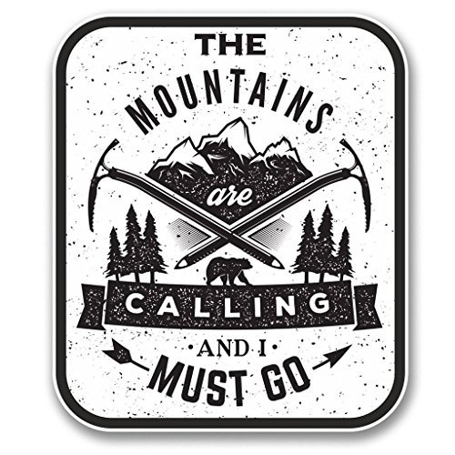 ni383-2-pack-the-mountains-are-calling-2-sticker-decal-premium-quality-vinyl-sticker-4-inches-by-35-