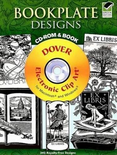 Bookplate Designs (Dover Electronic Clip Art)