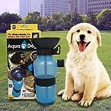 BASON borraccia per cani,Acqua portatile Aqua Dog Travel Bowl 18-oz bottiglia canina Auto Tazza da canoa per animali da Marchy