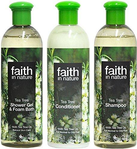 Haar Tee-baum-shampoo Fettiges Für (Faith In Nature - Tee Baum Shampoo , Shampoo und Dusch Gel)
