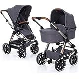 ABC Design Kombi Kinderwagen Condor 4 Air - 2in1 Set mit Babywanne und Sportwagen Buggy Aufsatz - Diamond Special…
