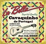 Labella CA300P Jeu de Cordes CavaQuinho/Portugais 11/9
