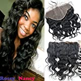 Rossy&Nancy Brazilian Body Wave 13X6 Lace Frontal With Baby Hair Unprocessed Body Wave Virgin Human Hair For Black...