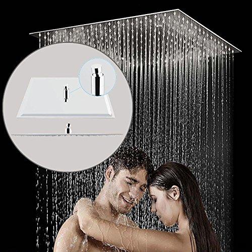 Diseño Moderno Cuadrada Cabeza de Ducha de Lluvia de Acero Inoxidable Rociador...