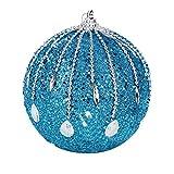 FeiliandaJJ Weihnachtskugeln Klebriger Bohrer Perlenkette Weihnachtsdeko Party Home Hochzeit Deko Ornamente für Weihnachtsbaum Christbaumkugeln (A-1)