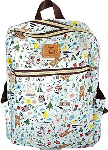 d7f94eb0b SturdyFoot Children's Medium-Sized Waterproof Canvas Backpack, School Bag