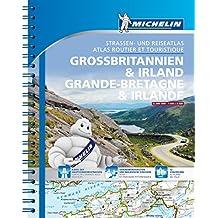 Michelin Straßenatlas Großbritannien & Irland mit Spiralbindung (MICHELIN Atlanten)