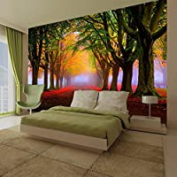 Tree Plants Flower Sunlights Wallpaper Photo Wall Mural Home Bedroom Decoration 260cmx175cm