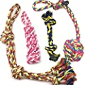 Dog Toys for Large Dogs, Durable dog rope toys chew toys set - 4 Pack Luxury pet toys for Medium to large Dog