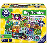Orchard Toys Big Numbers Floor Puzzle