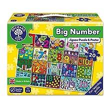 Orchard Toys - Puzzle a Tessere Grandi, Motivo: Numeri, 20 pz.