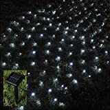 Babz 105 LED OUTDOOR NET STRING CHRISTMAS FAIRY LIGHTS SOLAR POWERED GARDEN
