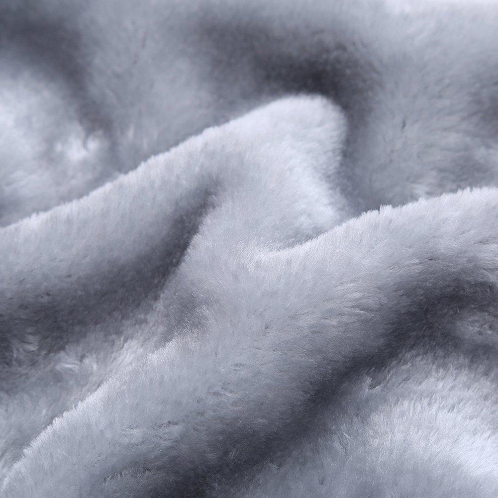 183d9cb45b8 MANLUODANNI Men s Winter Black Warm Jacket Hooded Outwear Coat (L ...