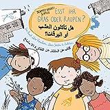 Esst ihr Gras oder Raupen? Deutsch - Arabisch: Ein Buch über Familien, übers Streiten und Zuhören.