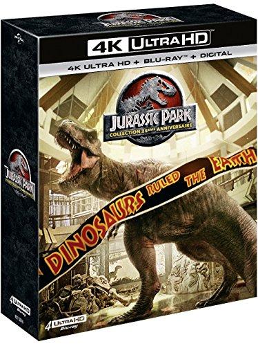 Preisvergleich Produktbild Coffret jurassic park 4 films 4k ultra hd [Blu-ray] [FR Import]
