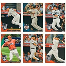 2010 Topps Traded Baseball Updates and Highlights Series Complete Mint Hand Collated 330 Card Set. Loaded with Rookies and Stars Including Stephen Strasburg, Jason Heyward, Albert Pujols, Alex Rodriguez, Derek Jeter, Evan Longoria and Many More! by Topps