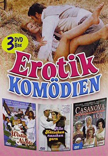 Erotik Komödien [3 DVDs]