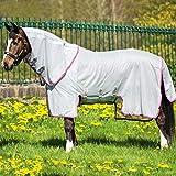Horseware Fliegendecke Amigo Bug Buster Vamoose Silver/Purple & Mint 115-160 (160)